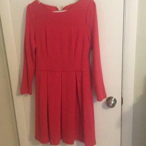 Boden Lindsey Ponte dress pink US size 12